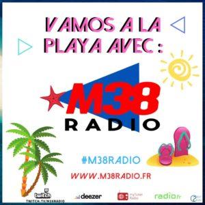 flyer, communication, m38 radio, radio, nord isere, webradio, creaskullt, rhône-alpes, agence