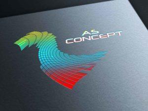 logo, as concept, création, design