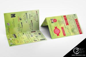 plaquette commerciale, armurerie peyron, communication, bourgoin jallieu, creaskullt