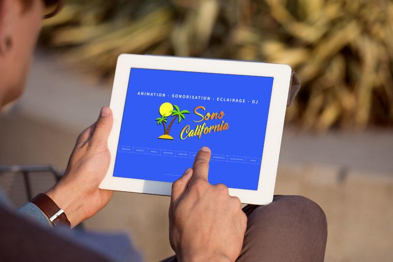sono california, site web, creation, bourgoin jallieu, communication, crea skullt